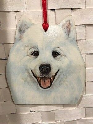 Samoyed Wooden Ornament