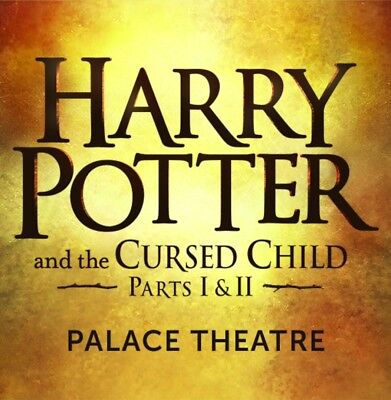 3x HARRY POTTER & THE CURSED CHILD - PARTS I & II - LONDON - 12th Jan - Balcony