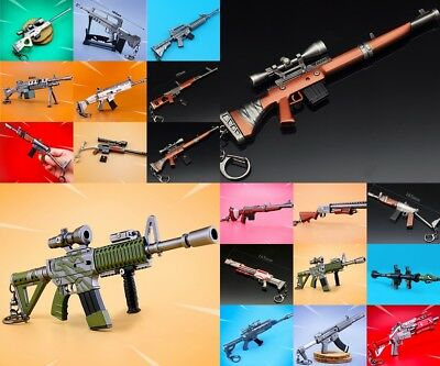 Game Fortnite Battle Royale Assault Rifle Weapon Keychain Keyring