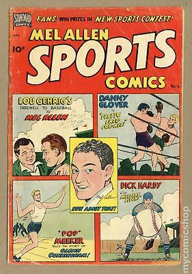Mel Allen Sports Comics #6 1950 GD+ 2.5