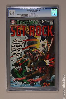 Our Army at War #210 1969 CGC 9.4 0260507005