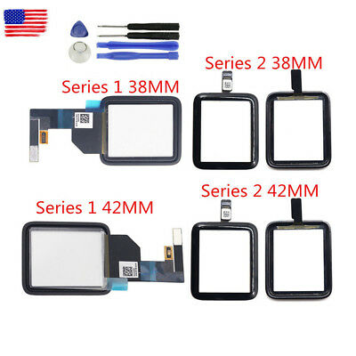 US Front Touch Screen Digitizer Glass For iWatch iWatch Series 1 2 3 Tools lot