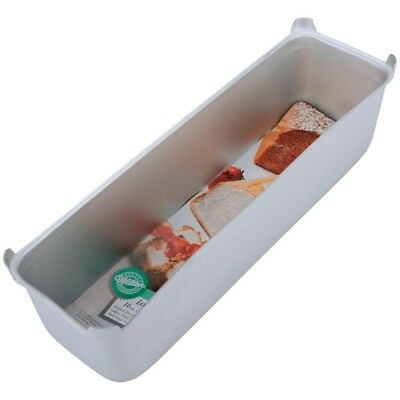 "Wilton Long Loaf Pan 16""x4""x4 1/2"" W1588 - Aluminum Cake Baking 16x4x4 Angel"