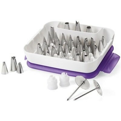 Master Tip Set - Wilton Decorating 55 Cake Tips