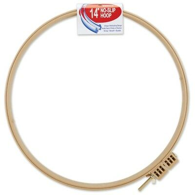 "Morgan Plastic No-slip Quilting Hoop 14""- - Noslip Products 9inch 14"