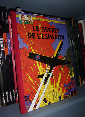 Blake & Mortimer : Le Secret de L'espadon T.1 - Version Toilé 1991 - BD Aventure