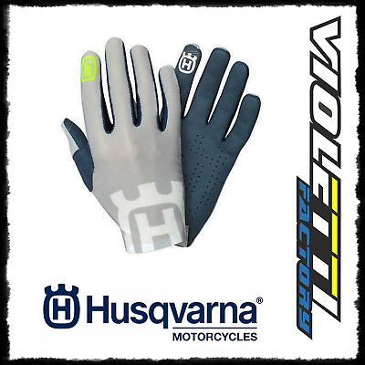 Celium Ii Railed Gloves 2019 Guanti Husqvarna Originali Ufficiale Cross Enduro
