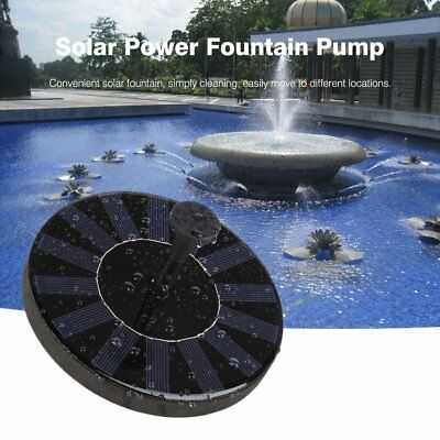 Solar Water Panel Power Fountain Pump Kit for Pool Garden Pond Watering MT