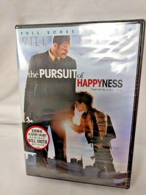 The Pursuit of Happyness DVD Movie (Full Screen Edition) Will Smith New, Sealed!