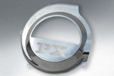 Vespa Flywheel Cowl Laser Cut Px Stainless Px Elec Start