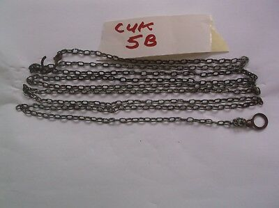 A Steel Chain From Majak Cuckoo Clock 81 Inch Long 52 Lincs To The Ft Ref Cuk 5B