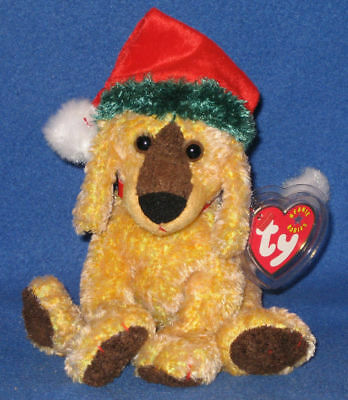 TY JINGLEPUP the DOG BEANIE BABY - US VERSION - MINT with MINT TAG