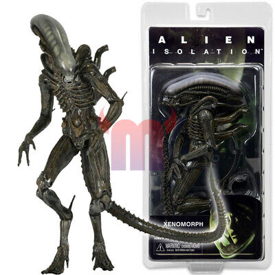"NECA Isolation Alien Warrior Xenomorph 7"" Action Figure Aliens Series 6 1:12 New"