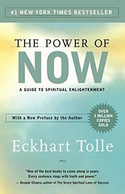 The Power of Now: A Guide to Spiritual Enlightenment by Eckhart Tolle PDF Ebook