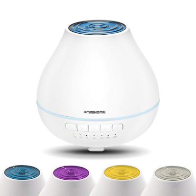 Aromatherapy Essential Oil Diffuser Humidifier Cool Mist Ultrasonic Aroma 200ml