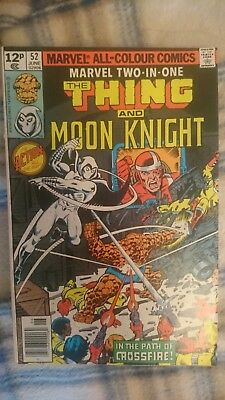 Marvel Two In One 52 - 1St Crossfire - Moon Knight Appearence