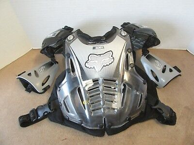 Fox Racing Airframe Motorcycle Chest Protector Youth Small Motocross Dirt Bike