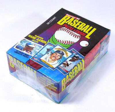 1986 Donruss Baseball Box *  36 packs  * McGriff
