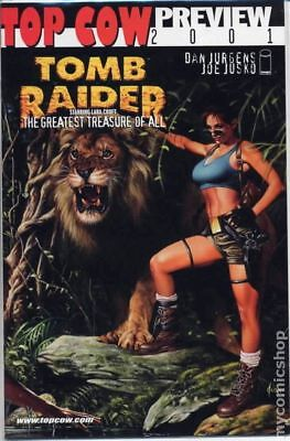 Tomb Raider Preview 2001 VF Stock Image