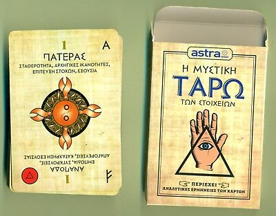 Taro Fortune Telling  Cards Opened But New