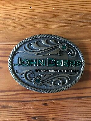 John Deere Belt Buckle Women