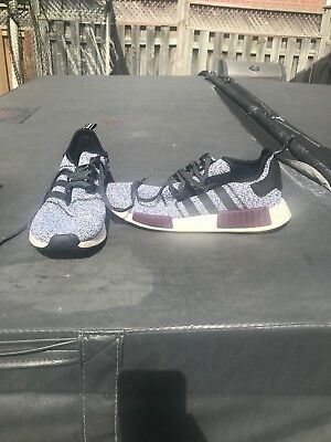 Adidas Nmd R1 Foot Locker Champs Exclusive Maroon Black White