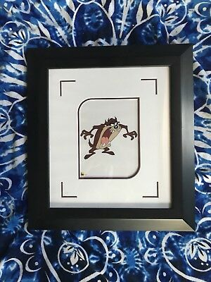 Looney Tunes Tazmanian Devil Framed And Matted Sericel Animation Art