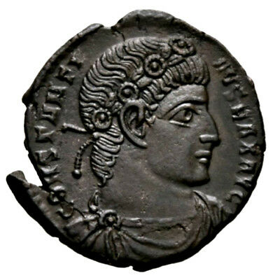 CONSTANTINE THE GREAT (330-335 AD) Scarce Follis, Rome #RB 357