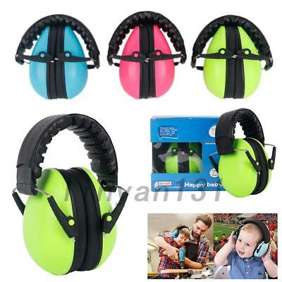 Anti-Noise Baby Kids Earmuffs Sleep / Study Defenders Hearing Protection Hot AU