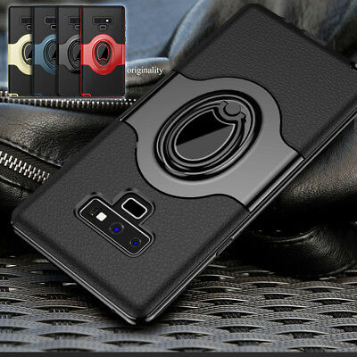 For Samsung Galaxy S9/S8/Plus/Note 9/8 Ring Holder Shockproof Armor Case Cover