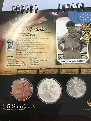2013 U.s. Mint 5-Star Generals Profile Collection