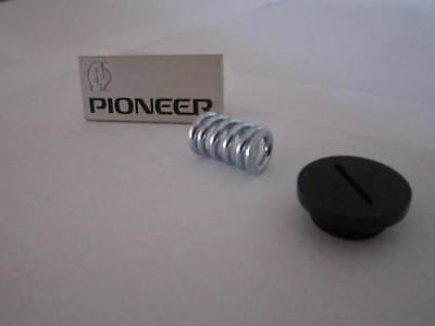 Pioneer SX-1250 SX-1050 SX-950 SX-1010   Spring & End Cap for Holder   W72-092