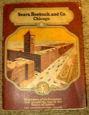 Original 1920 Sears Roebuck Catalog  No. 141 Over 1492 Pages Excellent!