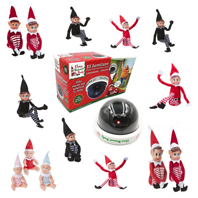 Elf / Santa Cam Naughty Elves Behavin Badly On The Shelf Elf Accessories Props