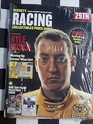 2018 Beckett Racing Collectibles Price Guide 29th NASCAR NHRA Dirt Kyle Busch