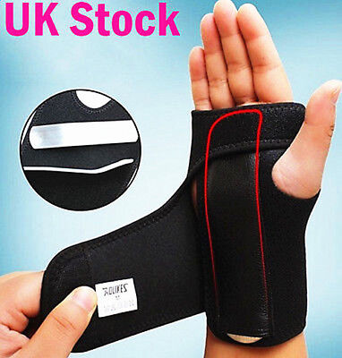 Carpal Tunnel Splint Wrist Brace Hand Support Fractures Right Left NHS