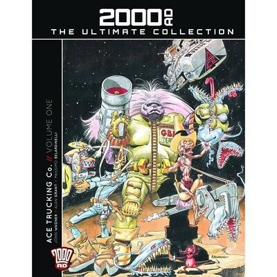 2000ad The Ultimate Collection book 17 - Ace Trucking Co. Volume One
