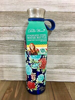 The Pioneer Woman Double Wall Stainless Steel Hot or Cold Bottle Thermos 18 oz