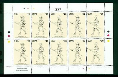 Ghana Scott #1296 1303 MNH Scouts Assortments SHEETS CV$73+ SEE SCANS CLEARANCE