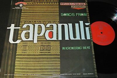 SONGS FROM TAPANULI IN KRONTJONG BEAT / Indonesia LP EVERGREEN TTS-572