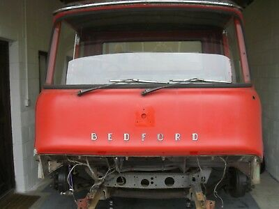 Bedford Tk 220 Unfinished Restoration Project With Solid Cab And Recon Parts V5