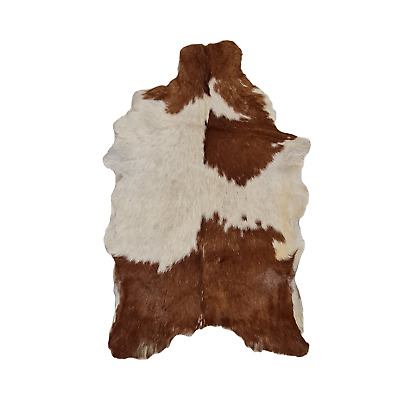 ANIMAL SKIN SOFT HAIR-ON LEATHER RUG COWHIDE GOAT HIDE RARE /& UNIQUE