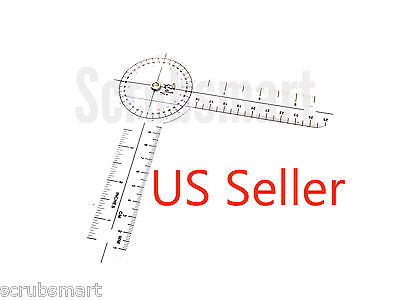"""US Seller - Brand New  6"""" Round Protractor Goniometer Pocket 6 in. Free Shipping"""