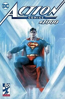Action Comics #1000 Gabriele Dell'Otto Bulletproof Exclusive Variant