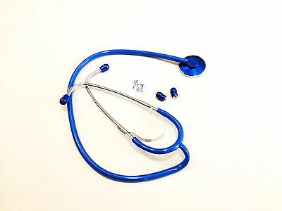 US Seller New Single Head Stethoscope Fast Ship Color: Royal Blue