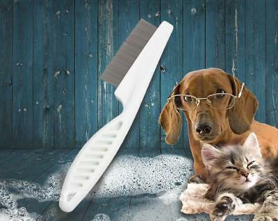 Flea and Debris Groomer Comb Dog Pet Cat Fine Toothed Grooming Kit US Seller CA