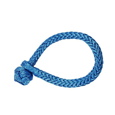 """Blue 5/16"""" Soft Shackles,ATV Winch Shackle,Synthetic Rope Shackle"""