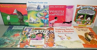 Lot of 10 Books for Kids age 5-8 (Gr K-2) SOFT & HC - Good to Like New - MIX