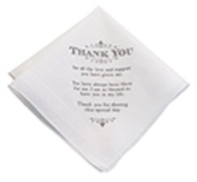 Lillian Rose* Men's Wedding Hankerchief*personalized Gifts