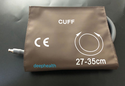 Factory Supply Reusable Single Tube Adult Blood Pressure Cuff 27-35cm For M1574A